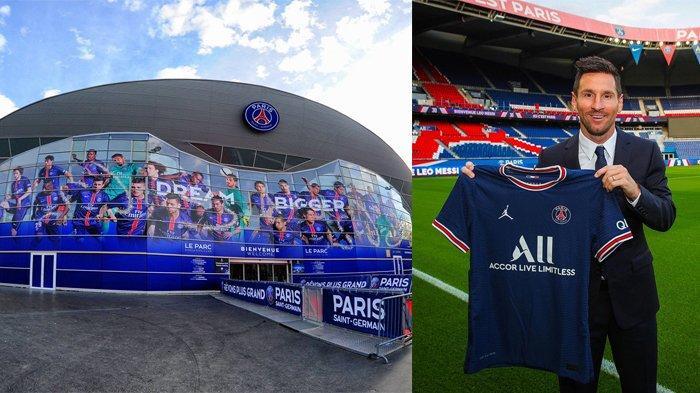 Bergabung dengan para bintang PSG, Lionel Messi akan bermarkas di Le Parc des Princes, Paris, Prancis.