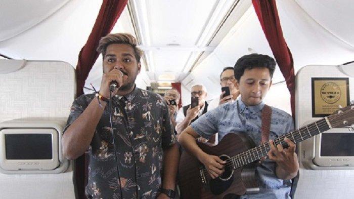 Berikan Pengalaman Berbeda, Garuda Indonesia Hadirkan Live Musik di Pesawat