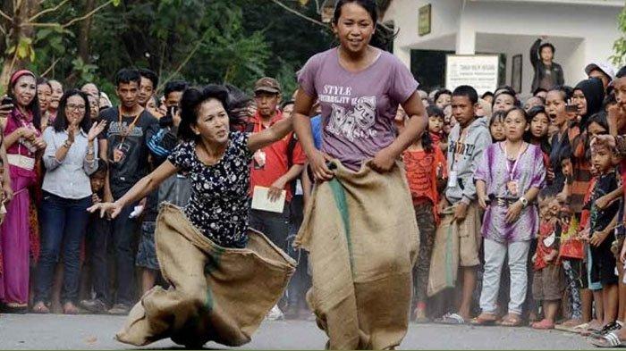 Asal Usul Lomba Balap Karung, Kompetisi yang Populer Saat HUT ke-74 RI