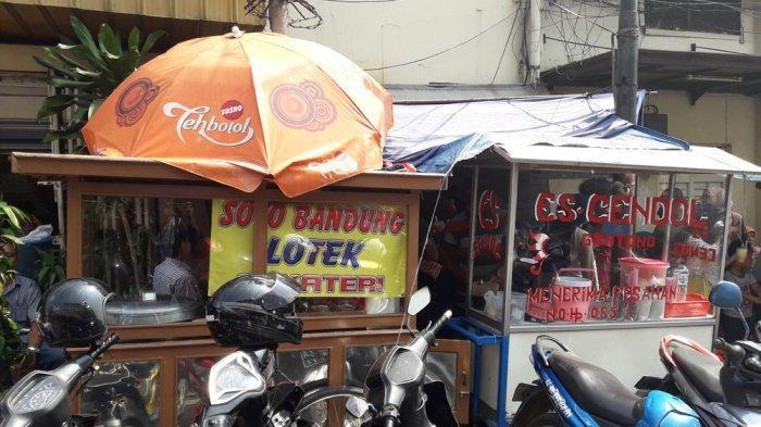 Lotek Alkateri di Jalan ABC No 16, Braga, Kota Bandung.