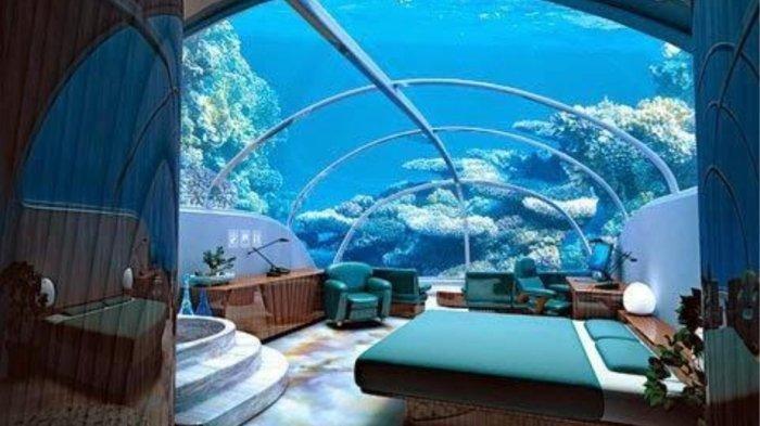 Hotel Termahal di Dunia yang Berada di Dalam Kapal Selam Ini Tarifnya Rp 4 Miliar Semalam
