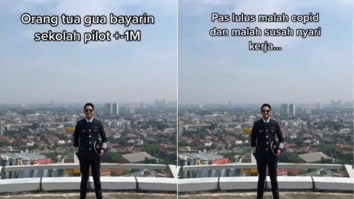 Viral Curhat Pria Lulusan Pilot Susah Cari Kerja saat Pandemi, Biaya Sekolah Habis Rp 1 Miliar