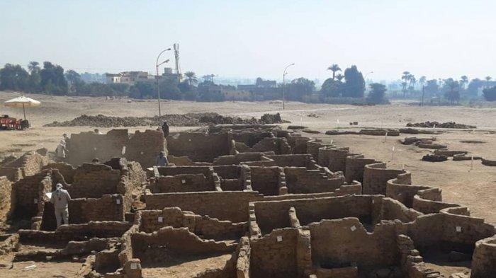 Kota Emas yang Hilang Ditemukan di Luxor, Jadi Temuan Arkeologi Terbesar Sejak Makam Raja Tut