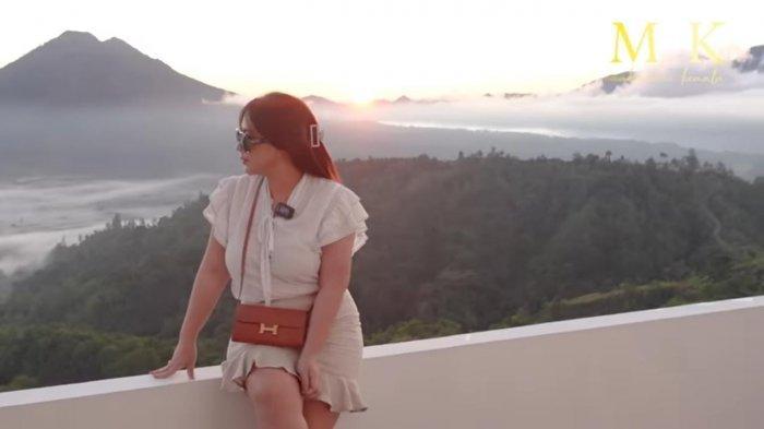 Crazy Rich Maharani Kemala Rela Bangun Pagi Demi Berburu Sunrise di Bali