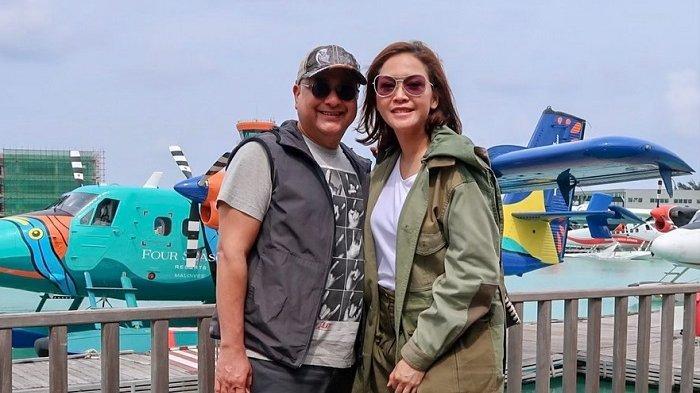 Maia Estianty dan Irwan Mussry Liburan Lagi ke Maldives, Menginap di Resort Mewah Tengah Laut