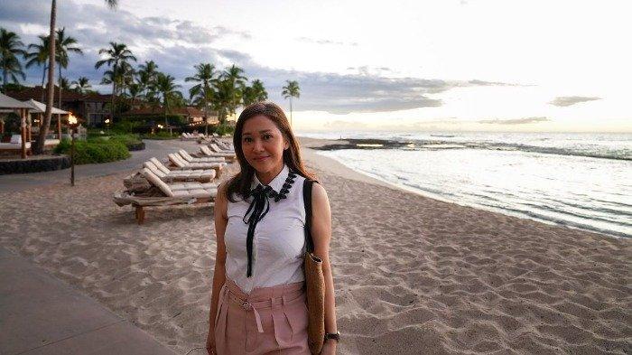 Maia Estianty liburan ke Hawaii