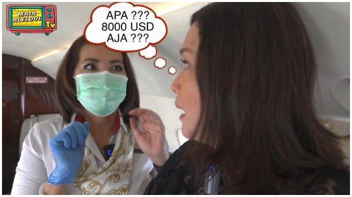 Jemput Suami Naik Jet Pribadi, Maia Estianty Kaget Dengar Harga Sewanya Capai Rp 115 Juta per Jam