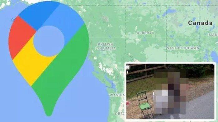 Viral di Medsos, Makhluk Aneh Ini Terekam Kamera Google Maps Sedang Duduk di Pinggir Jalan