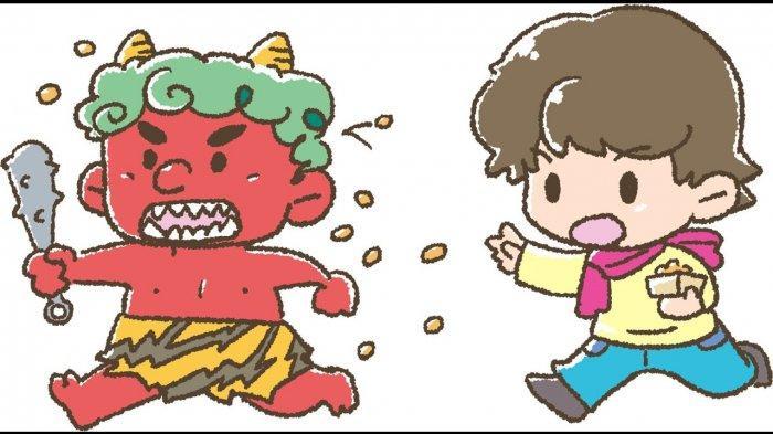 Mengenal Lebih Dekat Mame-maki, Tradisi Melempar Kacang untuk Mengusir Setan di Jepang
