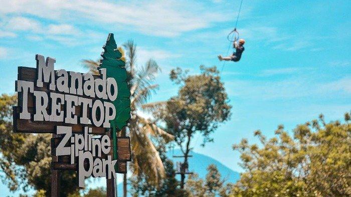 Cobain Wahana Flying Fox 500 Meter di Manado Treetop Zipline Park, Berikut Daftar Harganya