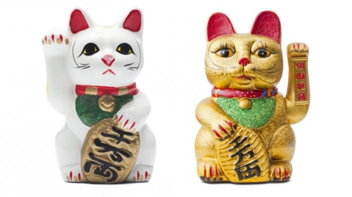 Maneki Neko Ternyata Begini Asal Mula Patung Kucing Ini Jadi Simbol Kemakmuran Dan Rejeki Tribun Travel