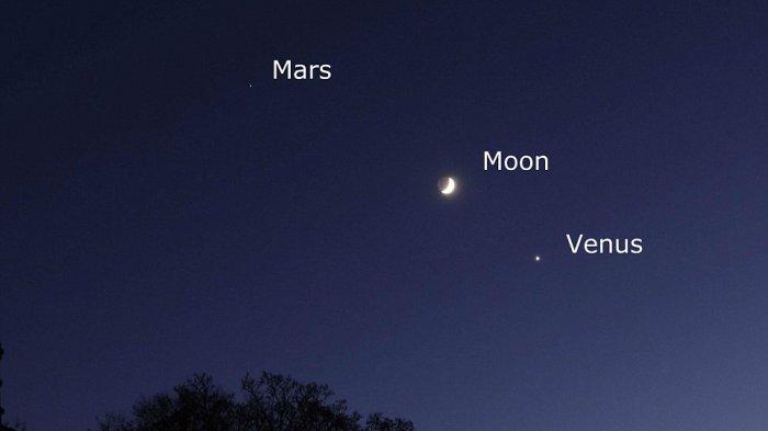 Tanpa teleskop kita tetap bisa tonton planet dengan mata