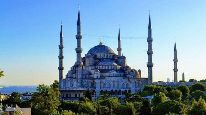 Sejarah Masjid Biru Turki, Dibangun dengan Gaya Arsitektur Khas Ottoman pada Tahun 1600-an