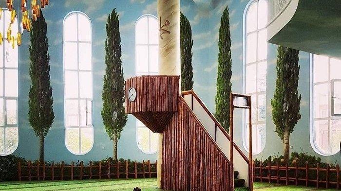 Sempat Viral, Intip Gaya Interior Masjid Hamamiye Camii yang Bernuansa Alam di Turki