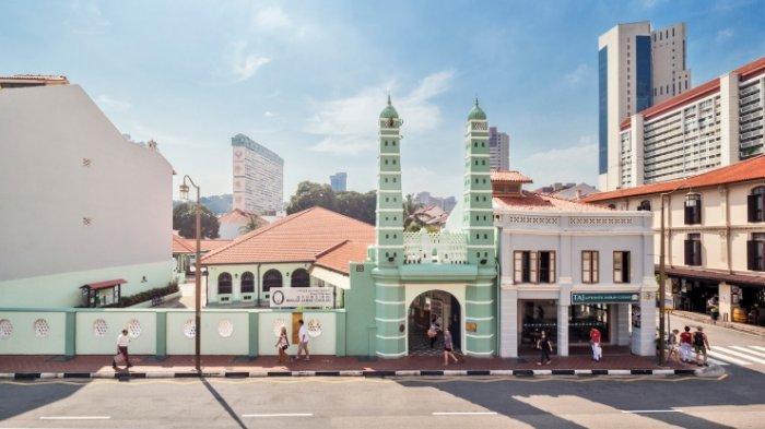 Masjid Jame Chulia, Chinatown, Singapura
