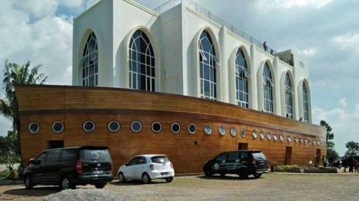 Masjid Kapal Ngaliyan di Perbatasan Semarang dan Kendal, Bangunannya Terinspirasi Kapal Nabi Nuh