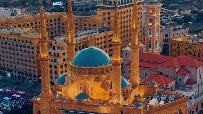 Masjid Muhammad Al-Amin, Landmark Kota Beirut Lebanon yang Mirip Hagia Sophia
