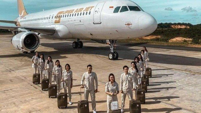 Harga Tiket Pesawat Super Air Jet Dibanderol Mulai Rp 252 Ribuan, Simak Rute Perdananya