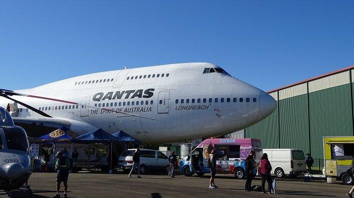 Qantas, maskapai penerbangan asal Australia.