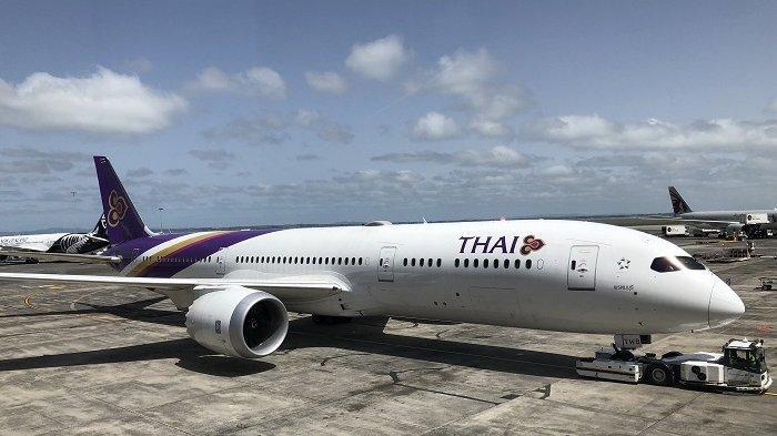 Maskapai Thailand Larang Makanan dan Minuman di Penerbangan Domestik