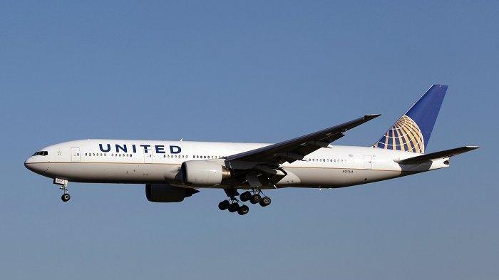 Ilustrasi maskapai United Airlines