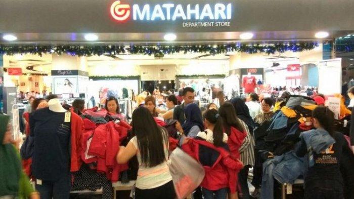 Promo Akhir Tahun Matahari Department Store Berikan Diskon Sampai 75 Persen Hingga Voucher Belanja Tribun Travel