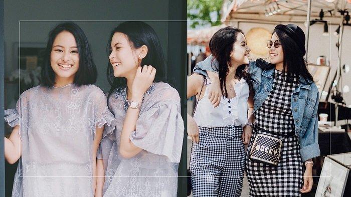 Intip Fashion Motif Checker Board ala Maudy Ayunda dan Adiknya, Cocok Buat Traveling