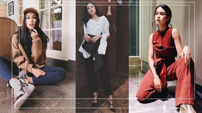 Traveling Tampil Feminin Sporty ala Maudy Ayunda dengan Fashion Items Mulai Rp 100 Ribuan