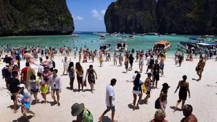 Thailand akan Perpanjang Penutupan Teluk Maya Bay yang Jadi Lokasi Syuting Film The Beach