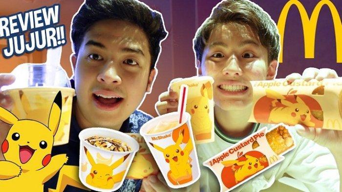 BTS Meal Tak Rilis di Jepang, Jerome Polin Review McD x Pikachu