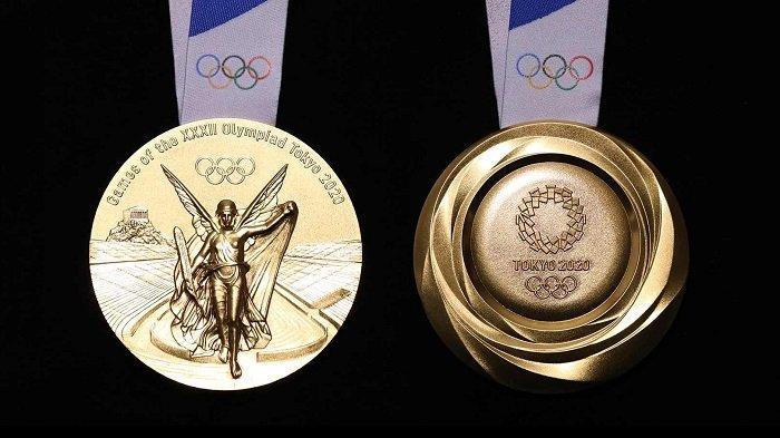 Fakta Unik Medali Emas Olimpiade, Banyak yang Tak Tahu Komposisi dan Harganya