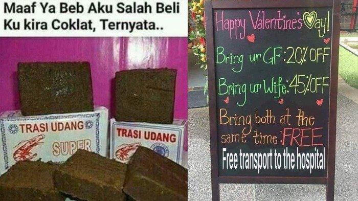 Haha! 14 Meme Kocak Ramaikan Valentine, Jomblo Harap Bersabar dan Jangan Sampai Berkata Kasar