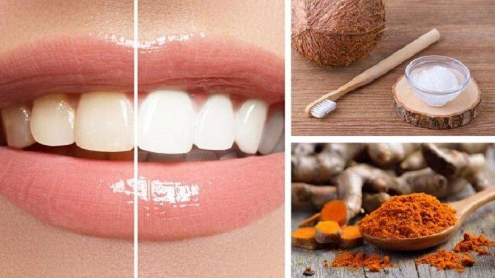 Trik Bikin Gigi Jadi Putih Secara Alami dengan Kunyit, Simak 3 Kombinasi Berikut Ini