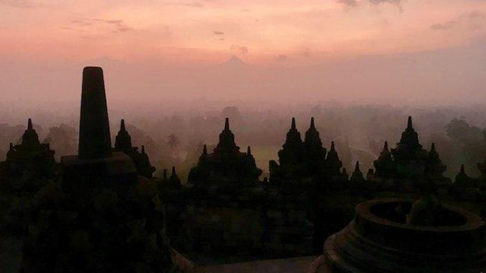 Pemandangan Tak Biasa di Candi Borobudur, Sepi Tanpa Wisatawan