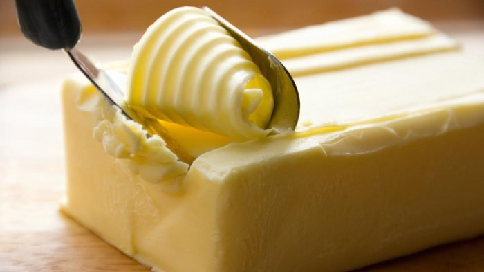 Mentega merupakan salah satu makanan yang tak perlu disimpan di kulkas.