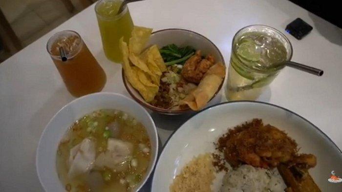 Menu Mi Papah Lapar dan Nasi Jeruk di Restoran Salapan