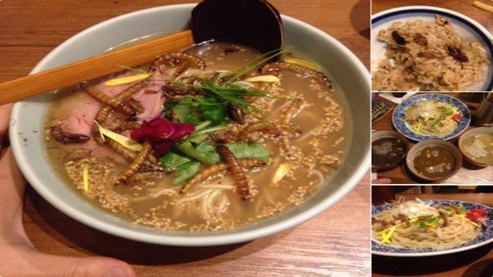 6 Kuliner Olahan Serangga dari Berbagai Negara, Ada Sup Ulat Goreng yang Terkenal di Jepang