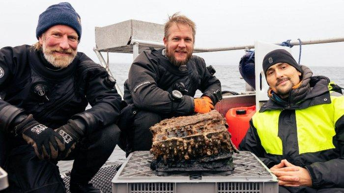 Mesin Ketik Nazi Ditemukan di Laut Baltik, Pernah Dipakai untuk Kirim Pesan Selama Perang Dunia II