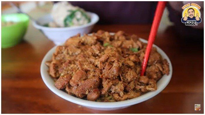 Warung Mi Ayam Unik di Kulonprogo, Porsinya Jumbo dengan Topping Ayam Melimpah