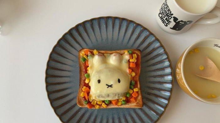 Resep Miffy Toast Enak, Menu Sarapan Menggemaskan yang Jadi Tren TikTok Jepang
