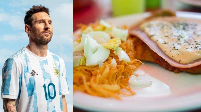 Lezatnya Milanesa Napolitana, Makanan Favorit Lionel Messi Berupa Steak Daging ala Argentina