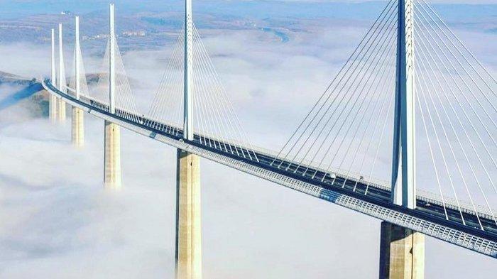 7 Jembatan Terindah di Dunia, Ada Millau Viaduct yang Lebih Tinggi dari Menara Eiffel