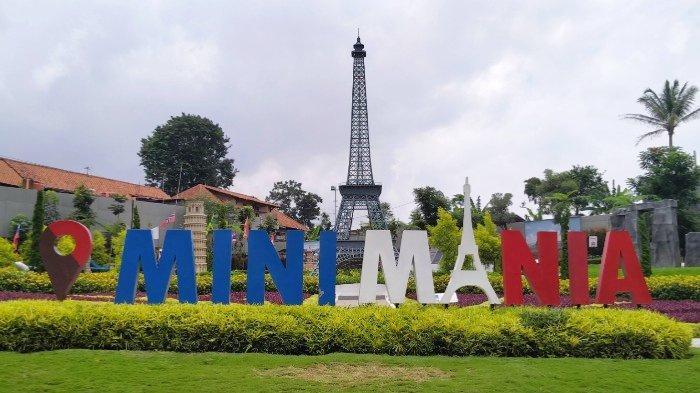 Mini Mania Cimory On The Valley Semarang yang menghadirkan miniatur berbagai landmark dunia, Rabu (26/2/2020).