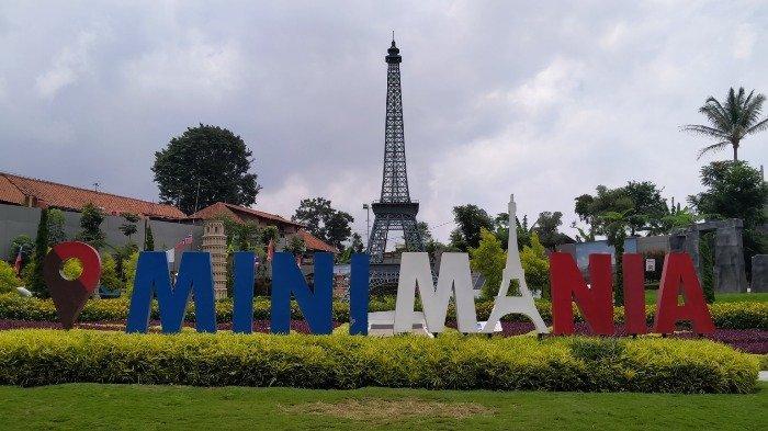 Mini Mania Cimory On The Valley yang menghadirkan miniatur berbagai landmark dunia, Rabu (26/2/2020).