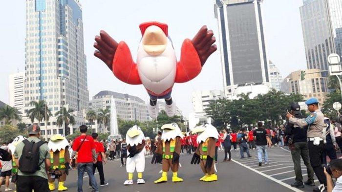 Yuk Mengenal Momo, Maskot Asian Para Games 2018 di Jakarta
