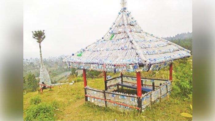 Sampah Pendakian Dijadikan 'Monumen Plastik' di Gunung Slamet, Idenya Datang dari Keprihatinan