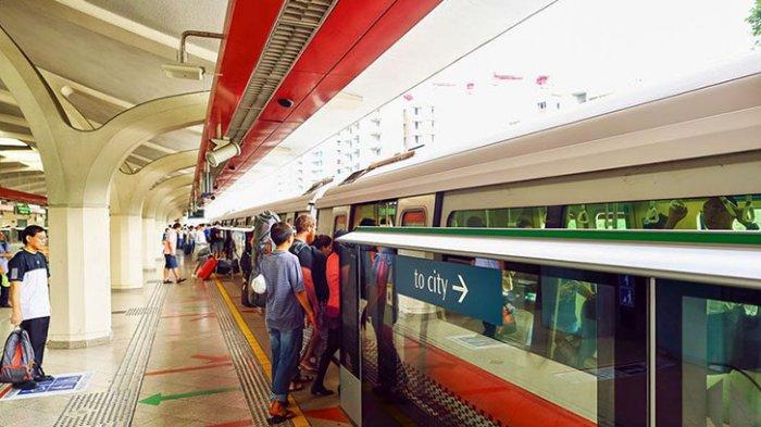 Cara Naik MRT Singapura dari Bandara Changi, Panduan untuk Traveler Pemula  - Tribun Travel