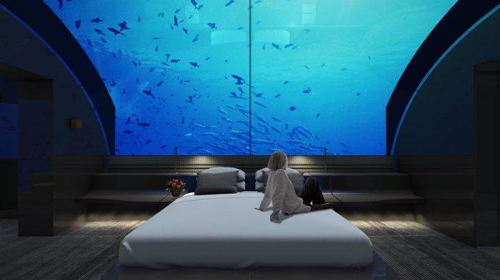 Hotel Bawah Laut di Maldives Tawarkan Kamar Seharga Rp 753 Juta Permalam, Bagaimana Isinya?