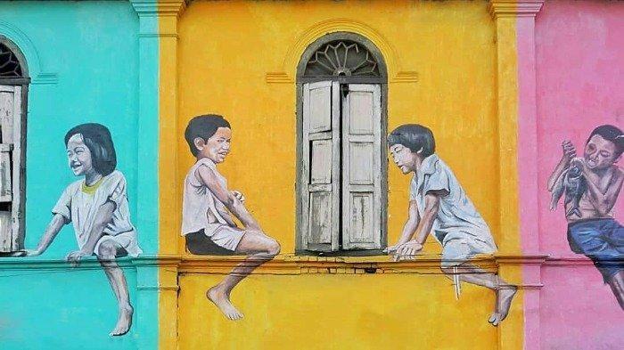 3 Tempat Mural Terbaik di Medan Ini Cocok untuk Berburu Foto, Mana Saja?