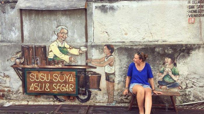 Liburan ke Malaysia? Jangan Lupa Berburu Mural ke Penang Street Art di George Town